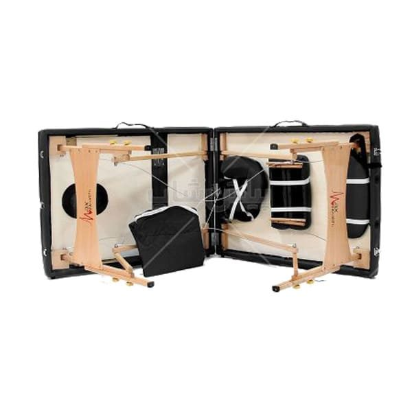 تخت ماساژ پرتابل چوبی B 1