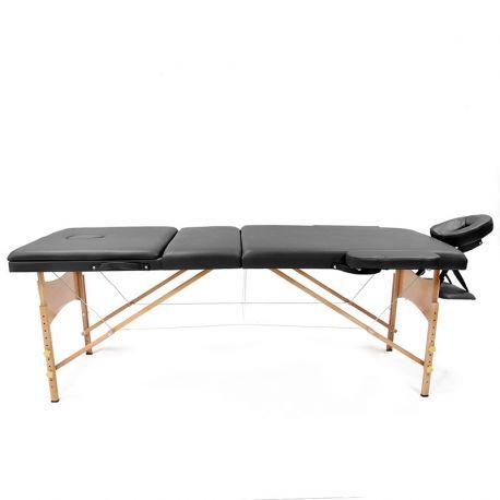 تخت ماساژportable-massage-bed-wooden-black