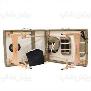 تخت ماساز پرتابل چوبی