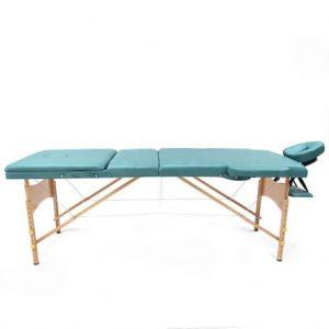 تخت ماساژ چوبی پرتابل