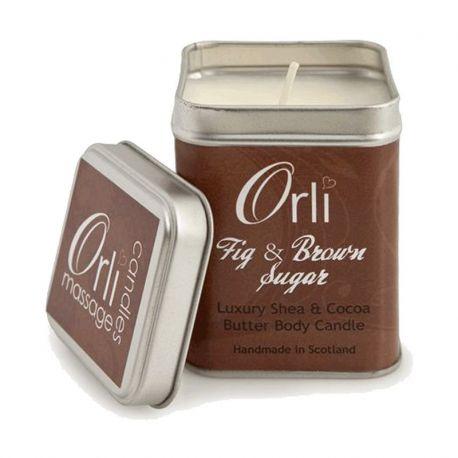 شمع ماساژ اورلی fig & brown