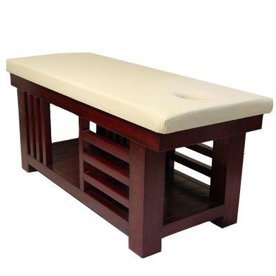 تخت ماساژ پایه چوبی ثابت