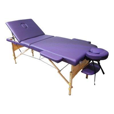 تخت ماساژ پرتابل پایه چوبی-wp