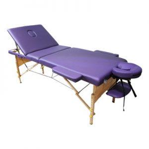 تخت ماساژ پرتابل پایه چوبی WP