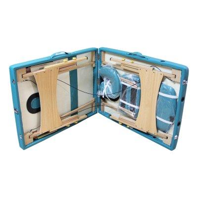 تخت ماساژ پرتابل پایه چوبی-wg