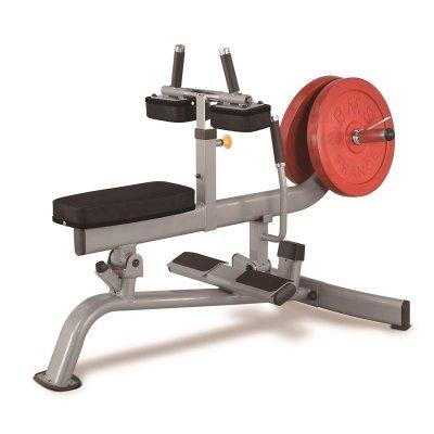 دستگاه ساق پا نشسته وزنه آزاد استیل فلکس-steel-flex-plsc
