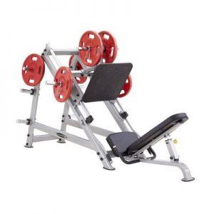 دستگاه پرس پا شیب دار وزنه آزاد استیل فلکس-steel-flex-pldp