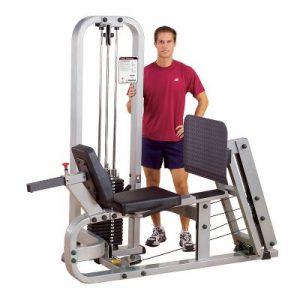 دستگاه پرس پا و ساق پا بادی سولید-body-solid-slp500