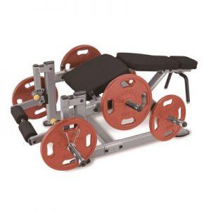 دستگاه پشت پا وزنه آزاد استیل فلکس-steel-flex-pllc