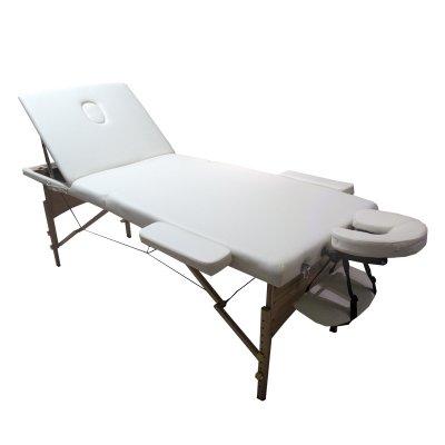تخت ماساژ پرتابل پایه چوبی WLC