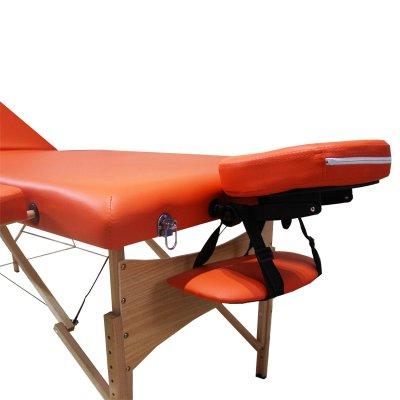 تخت ماساژ پرتابل پایه چوبی WO