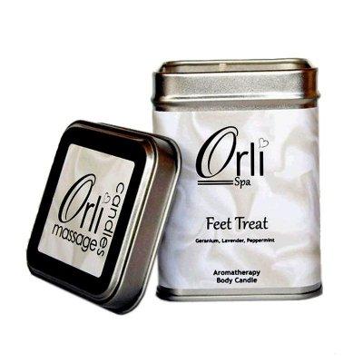 شمع ماساژ اورلی درمان کننده پا Orli Feet Treat 226g