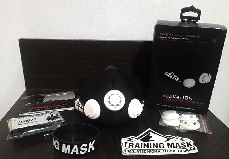 ماسک تمرین هوازی Training Mask 2.0 Orginal 12