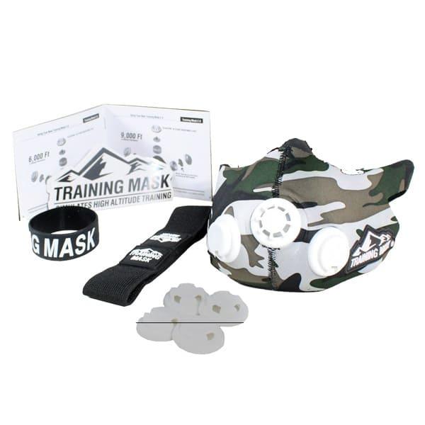 ماسک تمرین هوازی Training Mask 2.0 Army