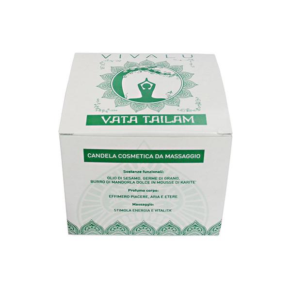شمع ماساژ سبز تایلام ویوالو VIVALU Tailam Vata 1