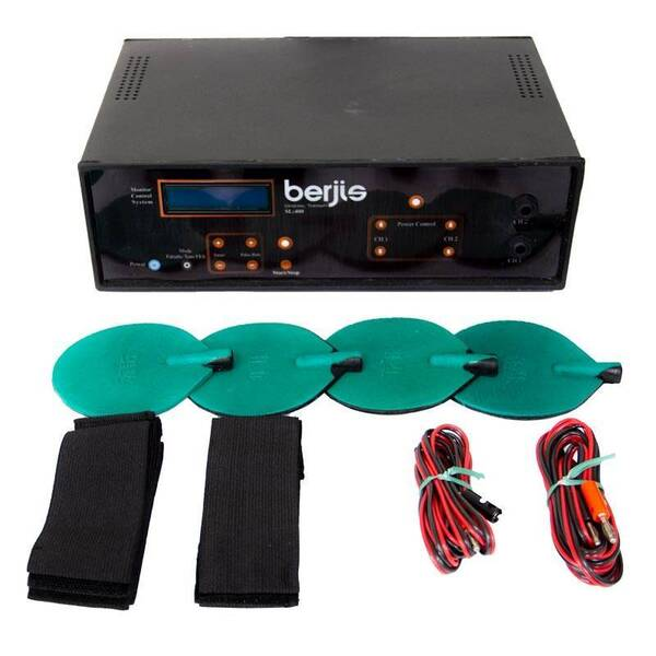 دستگاه فیزیوتراپی دیجیتال 2 کاناله 400 new هرتز برجیس (3)
