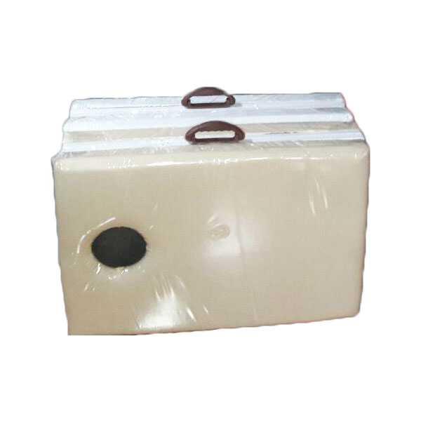 تخت ماساژ پرتابل پایه فلزی سوراخ دار PT04 4