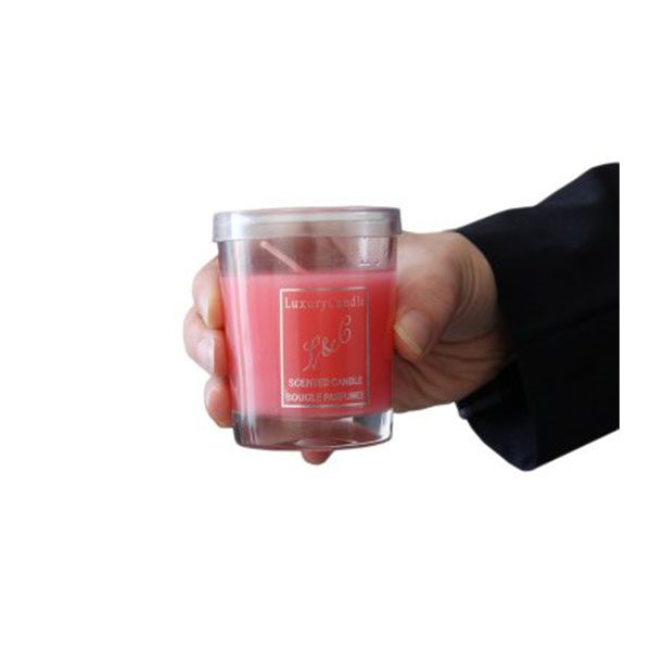 شمع وارمر عطری لیوانی مروارید صورتی Pink Pearl 1