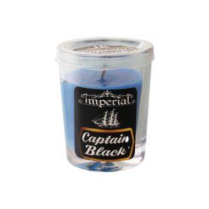 شمع وارمر عطری لیوانی کاپیتان بلک Captian black