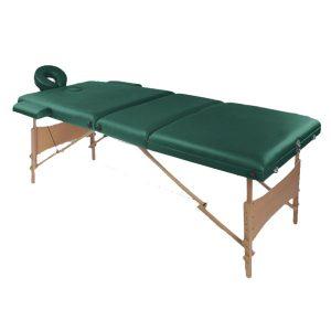 تخت ماساژ پرتابل چوبی WDG