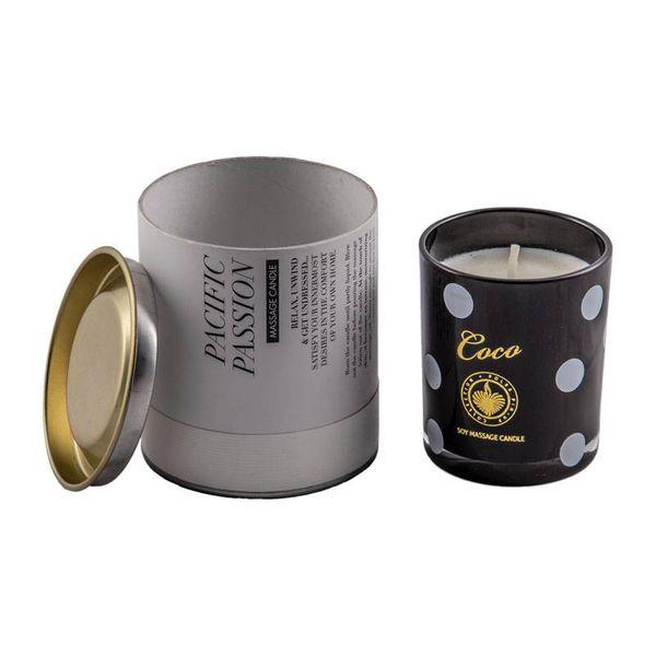 شمع ماساژ کو کو رایحه گل COCO 1
