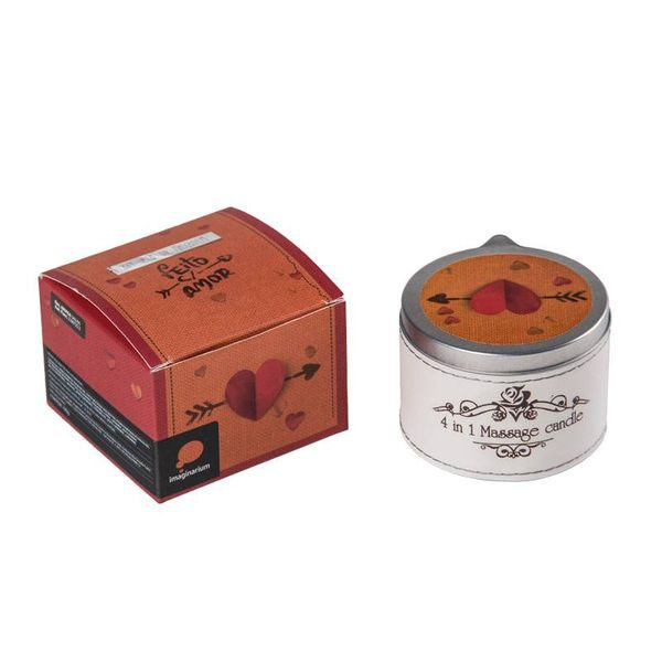 شمع ماساژ گل های بهاری 190 گرمی تالیدا TALIDA 2