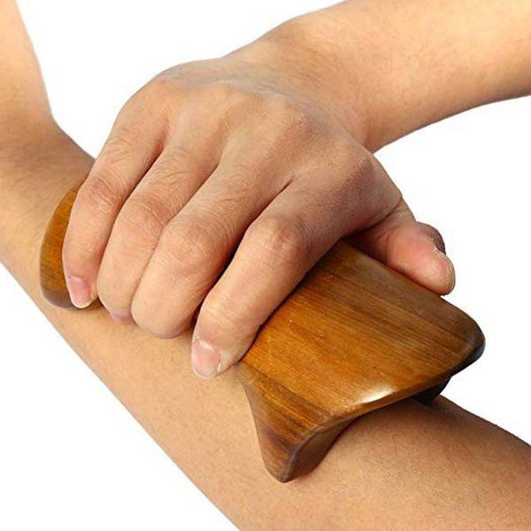 استیک ماساژ طرح سگ Wooden Massage Stick 1