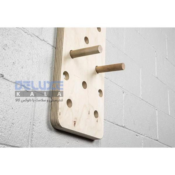 تخته صعود پگ بورد 240 سانتی متر Crossfit Peg Board 1