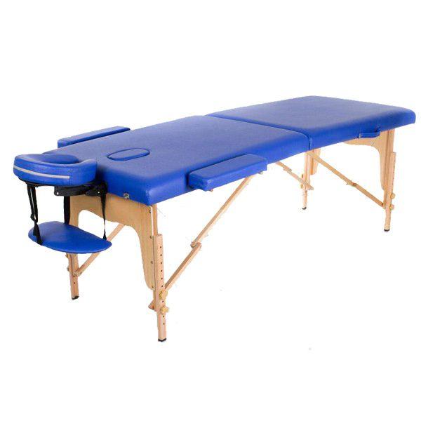 تخت ماساژ پرتابل چوبی 2 شکن WDG 1