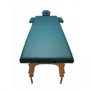 تخت ماساژ پرتابل چوبی 2 شکن WDG