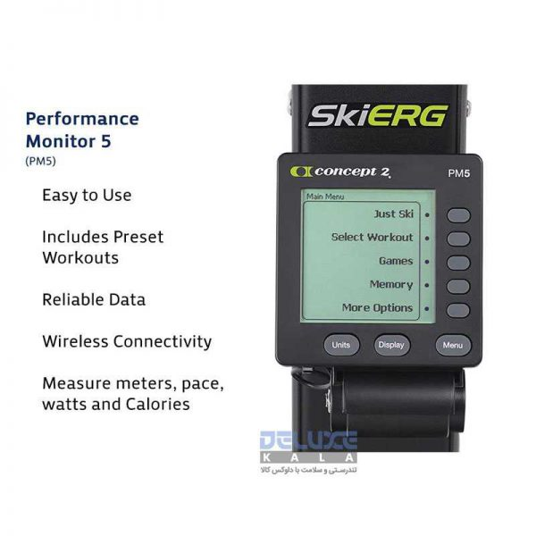 دستگاه اسکی ارگ کانسپت2 Concept2 SkiErg 3