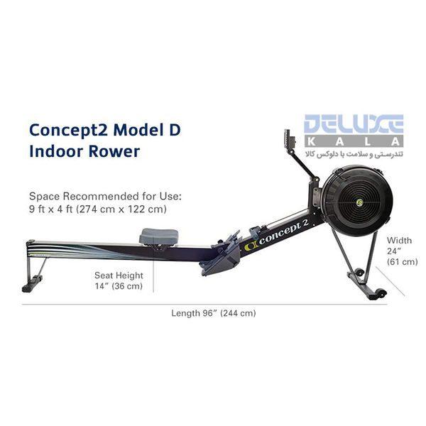 دستگاه روئینگ حرفه ای کانسپت 2 Concept2 Model-D Rowing 6
