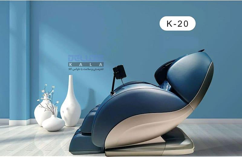 طراحی زیبای صندلی ماساژور بن کر K20