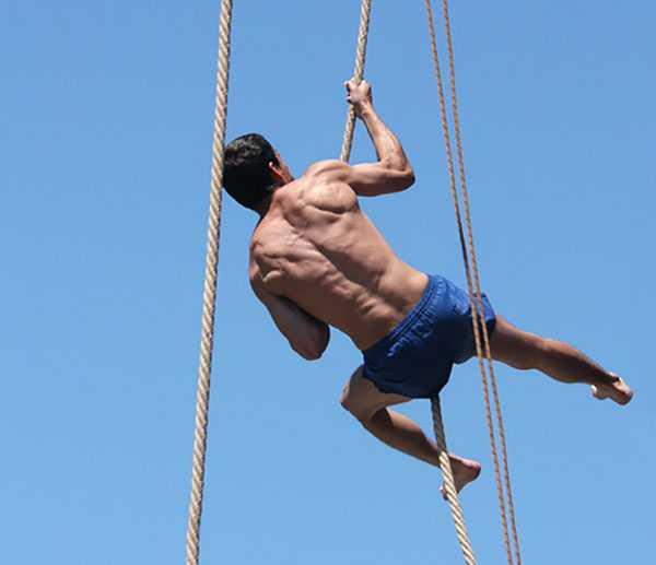 طناب صعود 7 متری نیشن فیتنس Climbing Rope 3