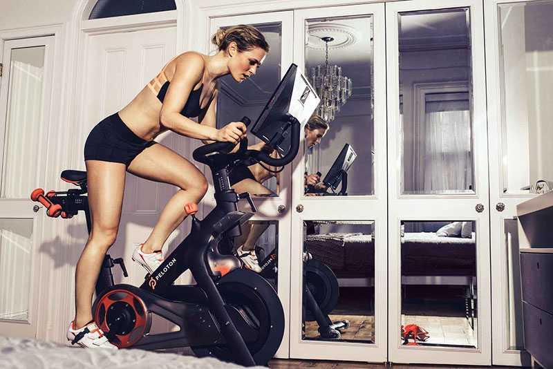 دوچرخه ثابت و لاغری ران 1