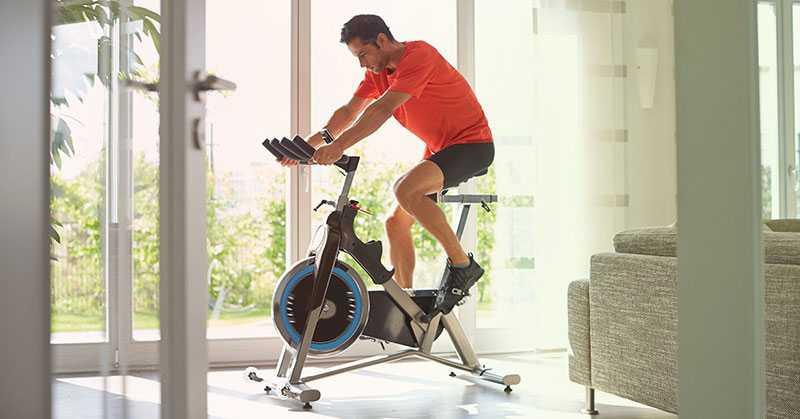 دوچرخه ثابت و لاغری شکم 3