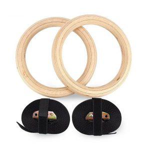 دار حلقه بدنسازی چوبی Wooden Gym Ring