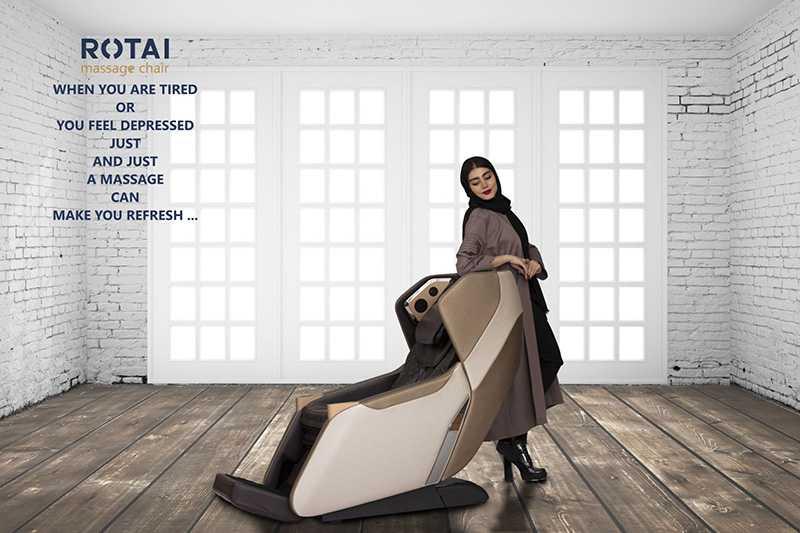 صندلی ماساژور روتای Rotai RT5820 2