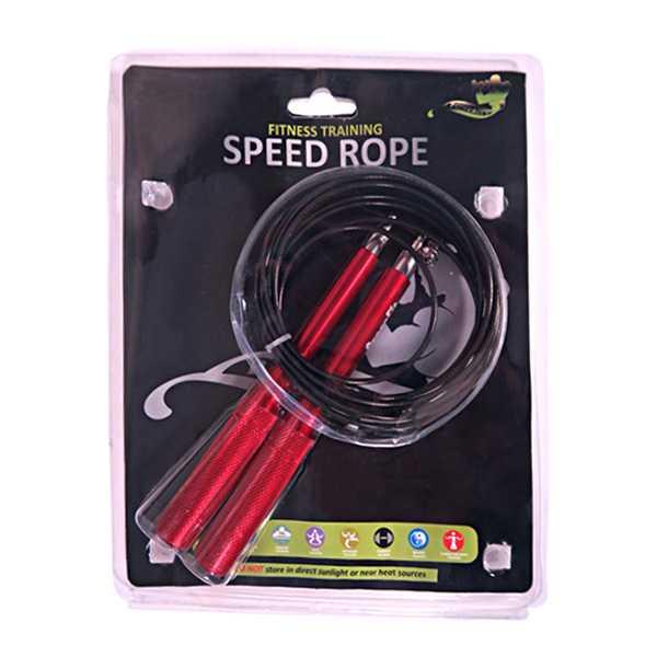 طناب کراس فیت دسته استیل پاور Crossfit Jumprope 4