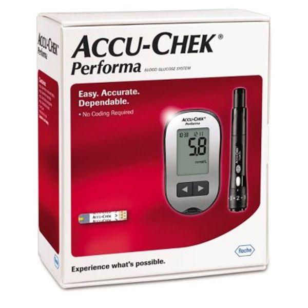 دستگاه تست قند خون اکیوچک پرفورما Accu Chek Performa 2