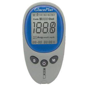 دستگاه تست قند خون گلوکو پلاس Gluco Plus