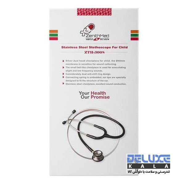 گوشی پزشکی کاردیولوژی اطفال دو پاویون زنیت مد ZTH3008 1