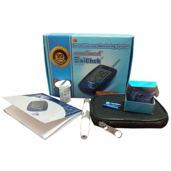 دستگاه تست قندخون اکسی چک Exichek TD-4224A 1