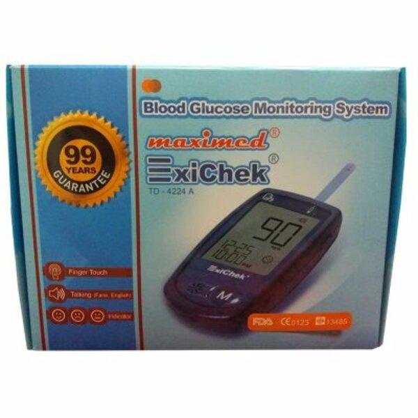 دستگاه تست قندخون اکسی چک Exichek TD-4224A 2