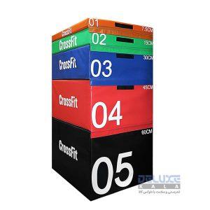 ست جامپ باکس سافت کراسفیت Crossfit Soft Jump Box