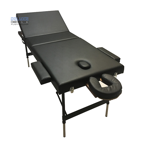 تخت ماساژ پرتابل آلمینیومی 3 شکن MBS