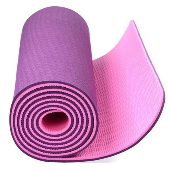 مت یوگا دو رو 6 میلیمتری Yoga Mat TPE 2