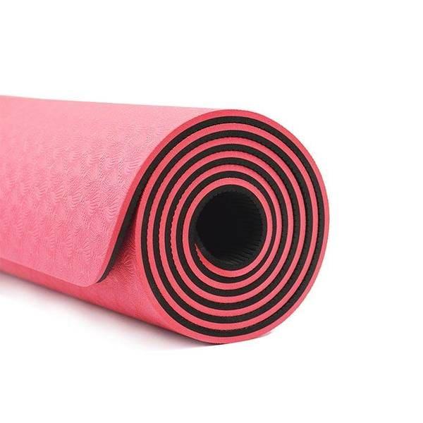 مت یوگا دو رو 6 میلیمتری Yoga Mat TPE