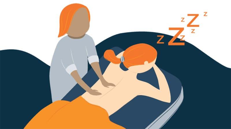 درمان بی خوابی با ماساژ (2)