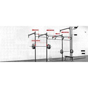 سازه دیواری سه یونیت PSD Custom Rig